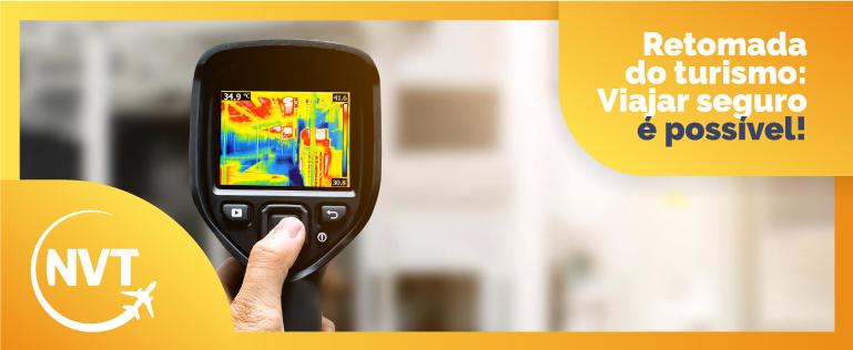 Aeroporto de Brasília instala câmera termográfica no desembarque